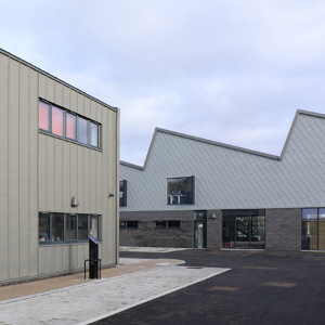 Evocative Zinc Roofing and Shingle Cladding at Lady Bee Enterprise Centre