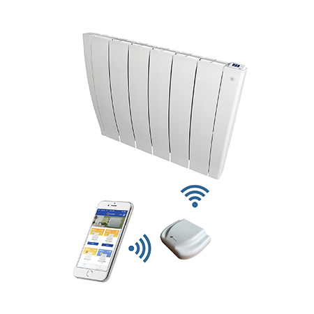 Install SMART electric radiators to avoid heating empty rooms
