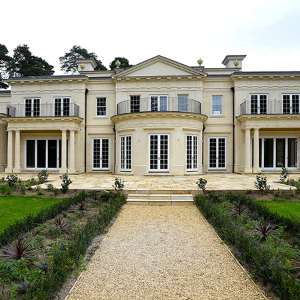 New windows for this new build mansion on the stunning Wentworth Estate