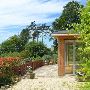 VELFAC recommended for stunning garden room extension
