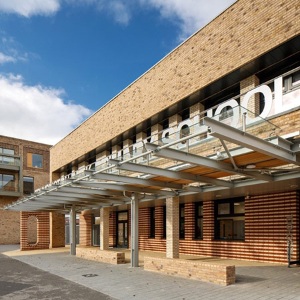 Twinfix's contemporary canopies have been used at Trumpington