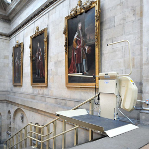 Stannah wheelchair lift supports access in Castle Howard