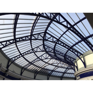 The Network Rail York Team liaised with Twinfix to replace the roof at Stirling Station