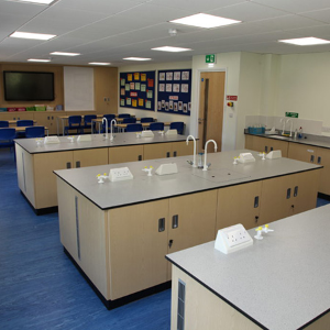 Witley Jones were chosen yet again to help with this schools refurbishment