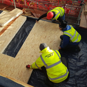 Exclusive LIQUIROOF insulation boards from SIG Design & Technology
