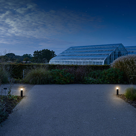 Solar powered lighting brightens up RHS Wisley Gardens