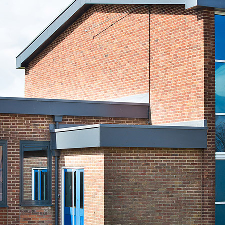 Marley Alutec resolves asbestos risk for a college in Yorkshire