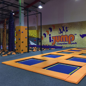 Norbord's SterlingOSB Zero covers the walls at i-Jump, Mansfield