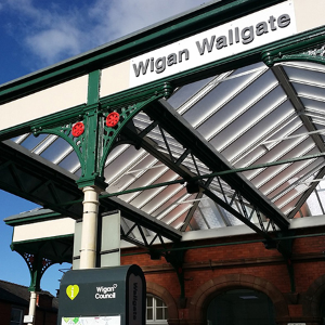 Twinfix roofing for £1million refurb of historic Wigan Wallgate station