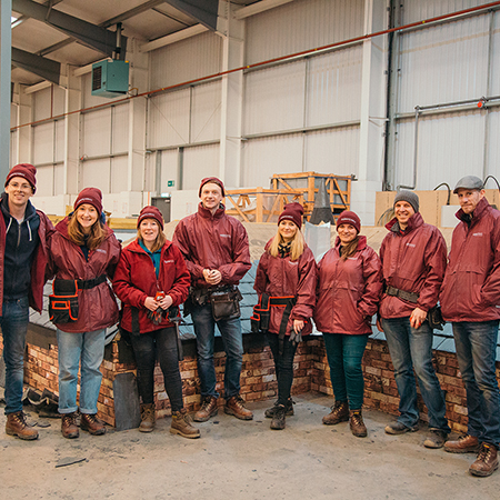 CUPA PIZARRAS hosts architects for hands-on training in Scotland