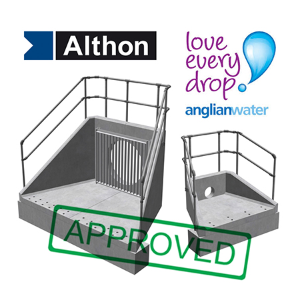Althon announce their 'Sewers for Adoption' range of Headwalls