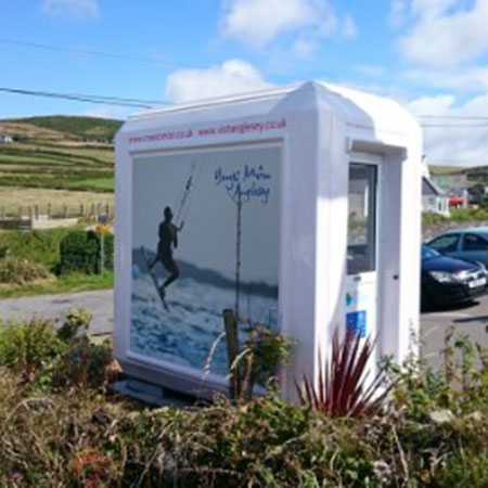 Genesis™ GRP kiosks for beach wardens in Anglesey
