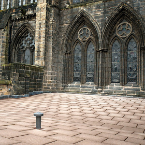 IKO PLC was brought in to help renew Blackadder Aisle Glasgow Cathedral