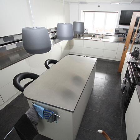 Kitchen specialist calls on GEC Anderson for a refurbishment