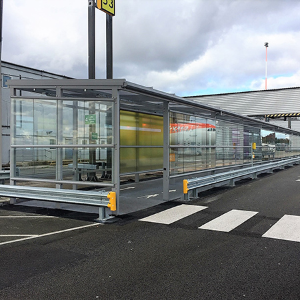 Liverpool John Lennon airport benefits from new covered walkway from Twinfix