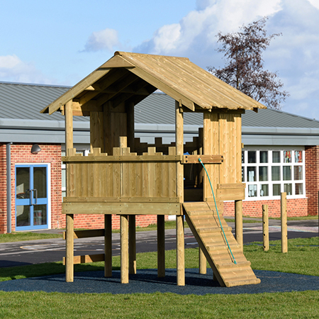 Playground equipment ensures imaginative fun at Thorntree Primary School