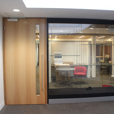 Timber doorsets for University College London