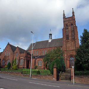Coatbridge church installs classical cast iron rainwater system