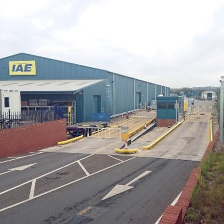 Beacon™ GRP building secures site at IAE