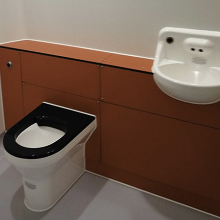 User-friendly washroom facility for Sowenna NHS unit