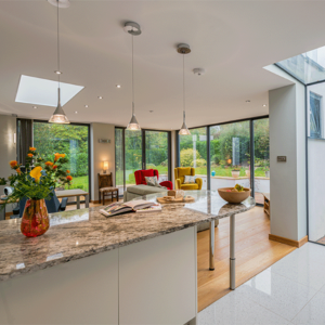Glazing Vision rooflights add 'wow-factor' to this Tudor style property