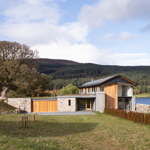 Elegant form and functional excellence from Rundum Meir for Perthshire residence