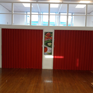 Concertina Folding Partitions revitalise school hall in Yorkshire