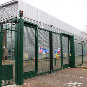 Upgrading perimeter security for a London data centre