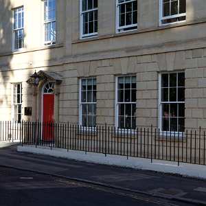 Mumford & Wood's traditional sash windows installed at Portland House