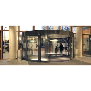 ASSA ABLOY automatic revolving door installed at Vlietland Hospital