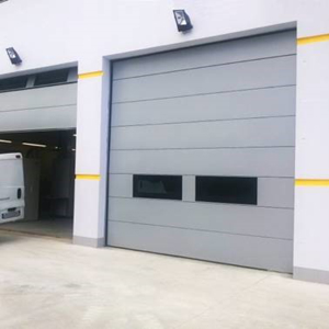 High performance acoustic sectional doors doors from Acustica Integral
