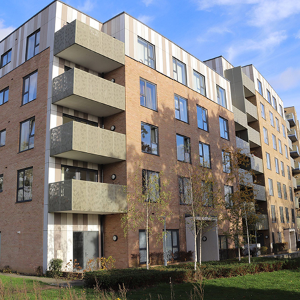 Sapphire provide cost-effective, detailed balcony solution for Allen Court