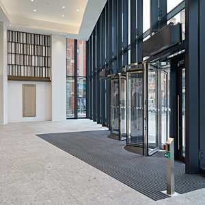 A new angle in Entrance Matting at Landmark in Manchester
