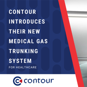 Contour introduces their new Medical Gas Trunking system for Healthcare