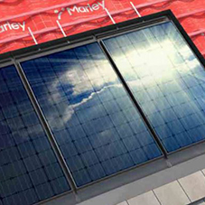 Marley adds integrated solar PV tile solution to complete roof system