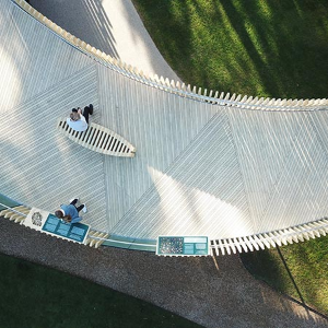 Gripsure decking brings new perspective to Cambridge University Gardens