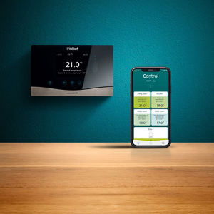 Vaillant unveils controls to help developers deliver homes of the future