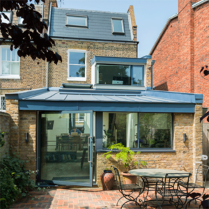 Bespoke rooflight provides daylight and ventilation to this London home
