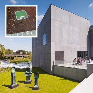 Pop Up Power Supplies install 13 new electricity units at The Hepworth Wakefield