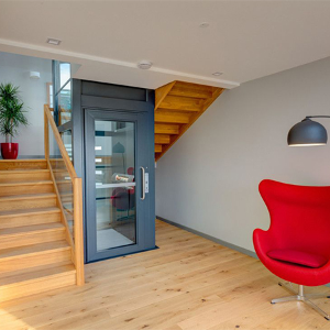 A Stannah platform lift lights up a new designer home in Devon