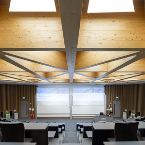 CPS seating for University of Birmingham lecture theatre