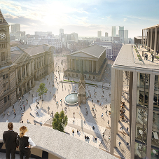 IKO approved contractor provided Hot Melt roofing system at Chamberlain Square