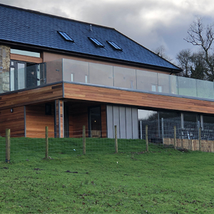 Western Red Cedar from Vincent Timber specified for award-winning cottages