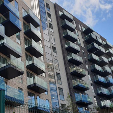 Sapphire supply 234 modular balconies to Brent House development