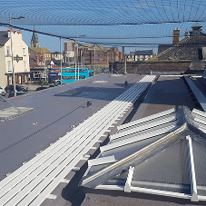 Polyroof selected for much-needed roof restoration at Rhyl Railway Station