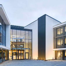 Lighting system from RIDI Group helps office building to reach high sustainability targets