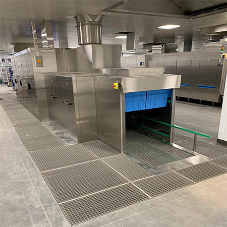 Bespoke Aspen stainless-steel solutions provided for airline catering company