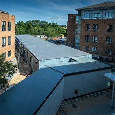 SIG provide roofing membrane for NHS isolation wards