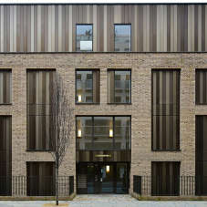 Brand new cladding for Bunhill Row in London