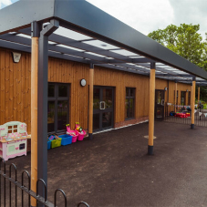 New classroom for Key Stage 1 children at a Primary School in Appleby Magna